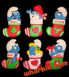 Smurf Christmas Ornaments