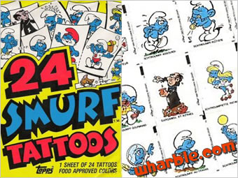Smurf Tattoos