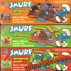 Smurf Turnabouts Puzzle