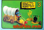 Smurf Western Wagon