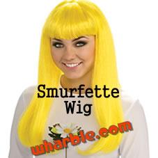 Smurfette Blond Wig