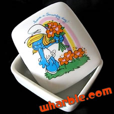 Smurfette Trinket Box