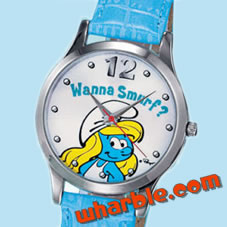 Smurfette Watch