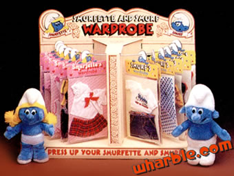 Smurfette and Smurf Doll Clothes