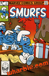 Smurfs Marvel Comics