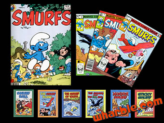 Smurfs Comic Books Collection