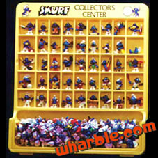 Smurfs Display Case