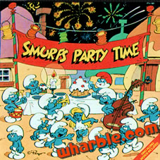 Smurfs Party Time