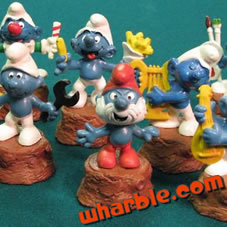 Smurfs Pencil Sharpeners