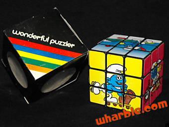 Smurf Rubik's Cube