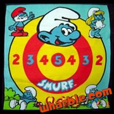 Smurf Velcro Darts