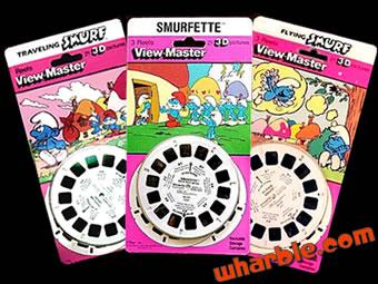 Smurf View-Master Reels