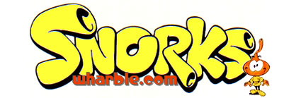 Snorks Cartoon Logo