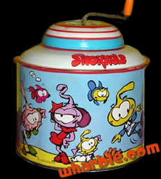 Snorks Crank Toy