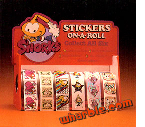 Snorks Stickers