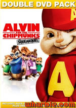 The Chipmunks Squeakquel DVD