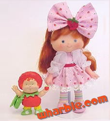 Strawberry Shortcake Berrykin Doll