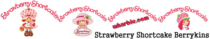 Strawberry Shortcake Berrykins