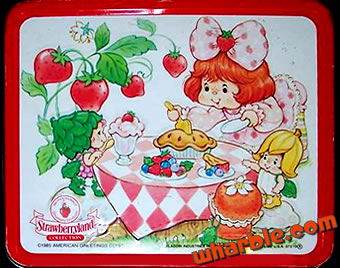 Strawberry Shortcake Berrykins Lunch Box