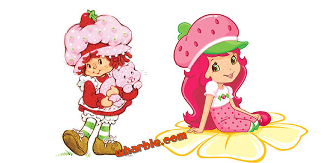 Strawberry Shortcake Then & Now
