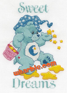 Care Bears Cross-Stitch