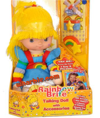 Talking Rainbow Brite Doll