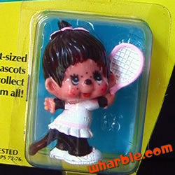 Tennis Girl Monchhichi