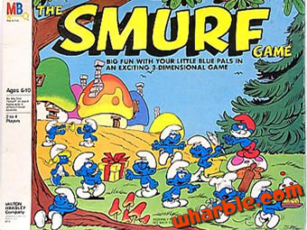 Smurf Board Game