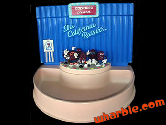California Raisins Applause Stage