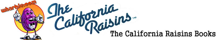 The California Raisins Books