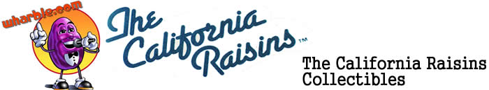 The California Raisins Collectibles