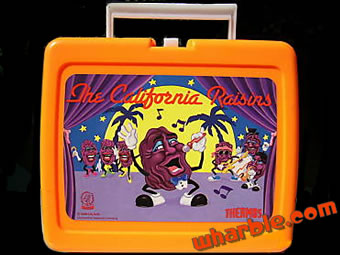 California Raisins Lunchbox