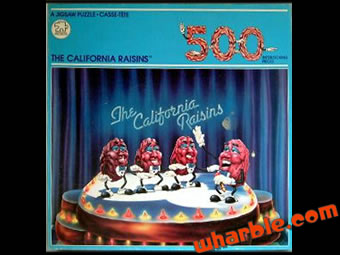 California Raisins Puzzle