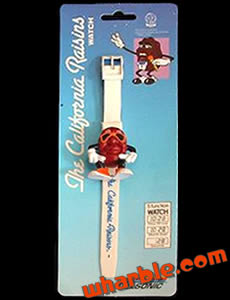California Raisins Watch