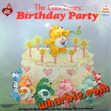 The Care Bears Birthday Party Record