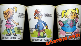 The Chipettes Dixie Cups