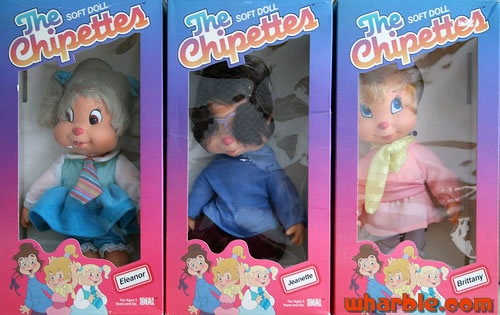 The Chipettes Dolls