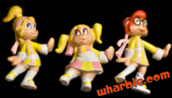The Chipettes Figures