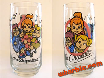 The Chipettes Glass
