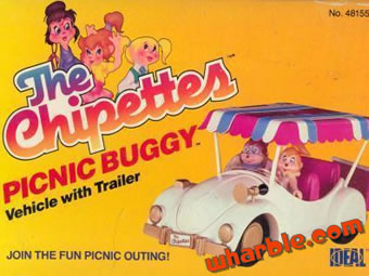 The Chipettes Picnic Buggy