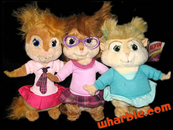 The Chipmunks Plush Toys