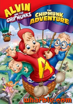The Chipmunks Adventure DVD