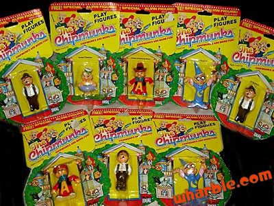 The Chipmunks Play Figures