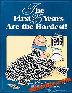 The First 25 Years Are The Hardest