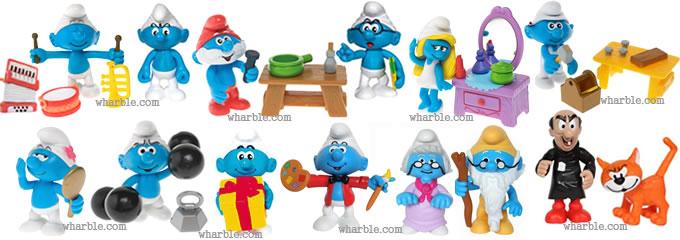 Play Along Smurfs & Jakks Pacific Smurfs |