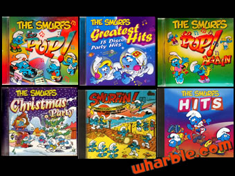 Smurf CDs