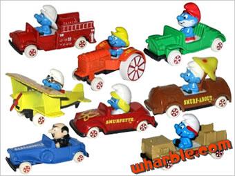 The Smurfs ERTL Cars