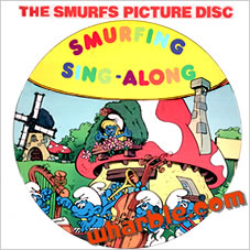 The Smurfs Picture Disc