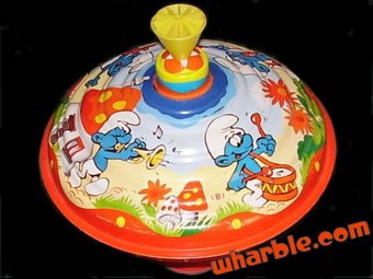 The Smurfs Spin Top