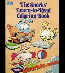 The Snorks Coloring Book